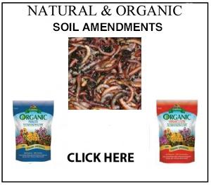 Natural organic fertilizers soil amendments for Soil amendments